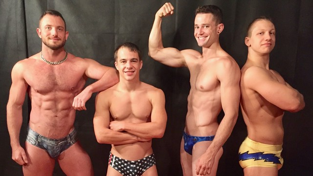 Catalog 9 - The Boys Muscle Up!