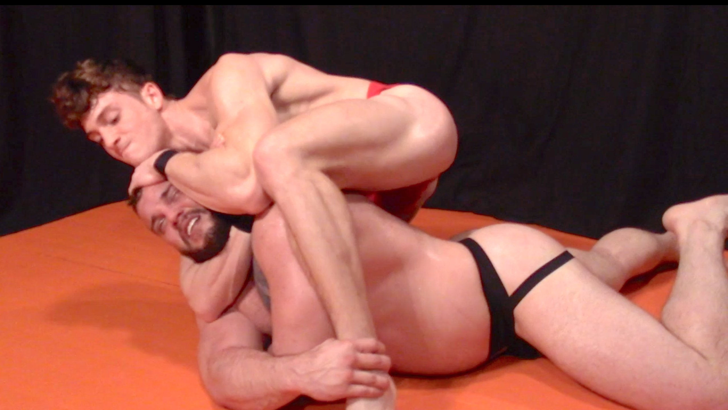 Gay muscle wrestling free videos